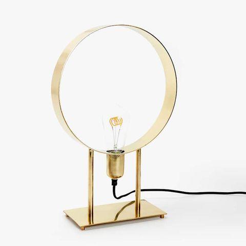 lámpara circular