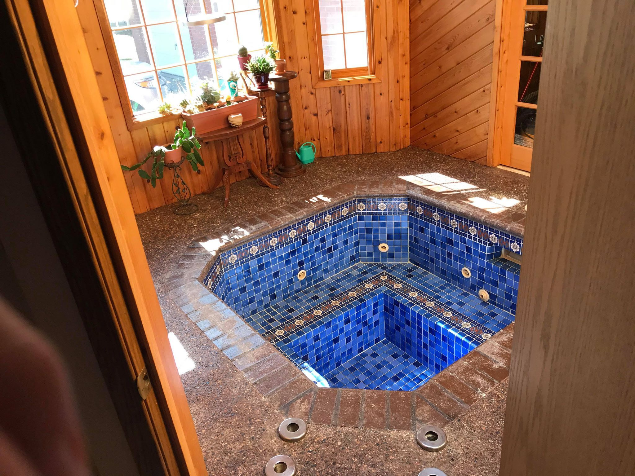 This Couple Discovered A Hidden Hot Tub In Their Home