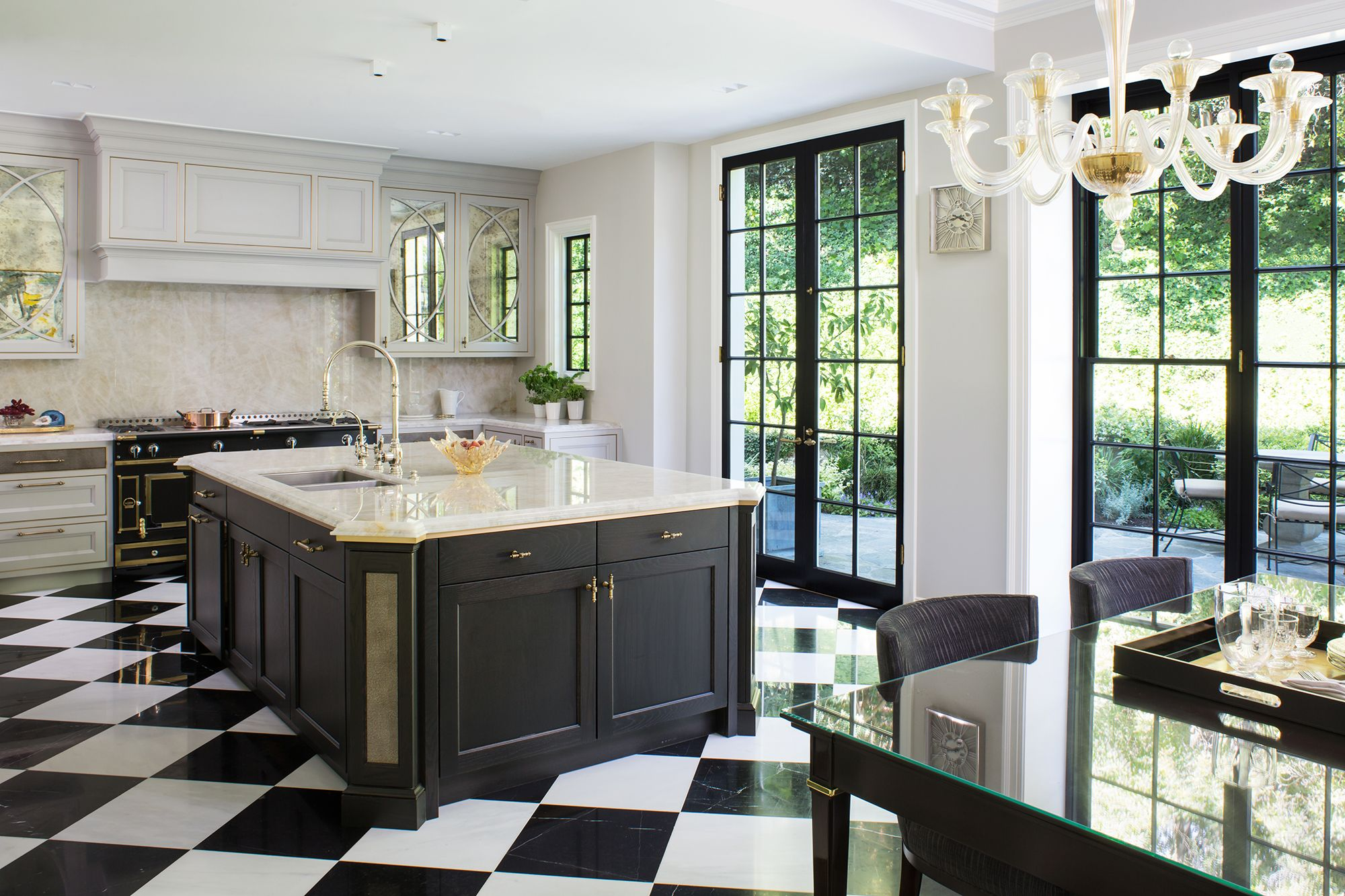 20+ Polished Kitchens with Dark Wash or Black Kitchen Islands