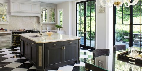 20 Polished Kitchens With Dark Wash Or Black Kitchen Islands