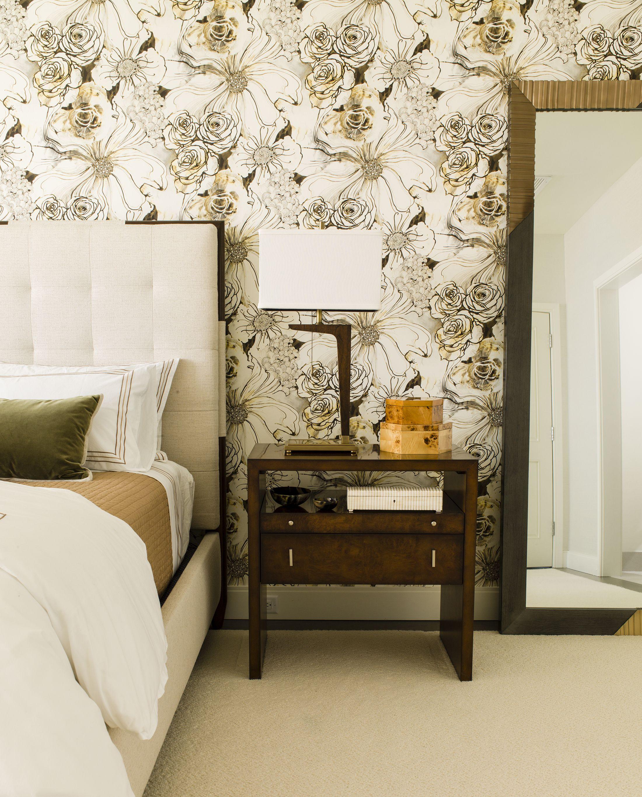 30 bedrooms with statement wallpaper rh elledecor com