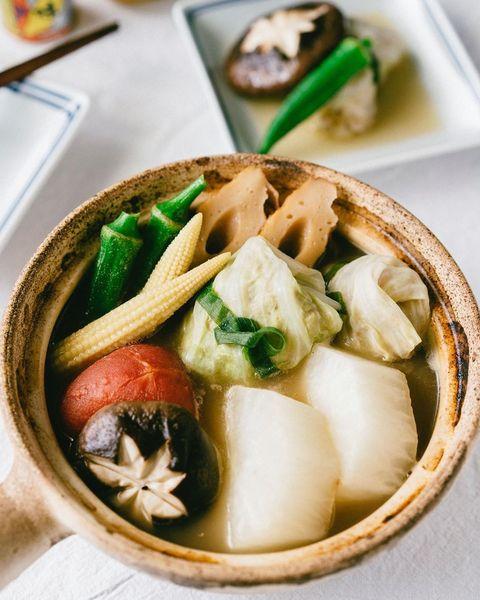關東煮竹輪與高麗菜捲