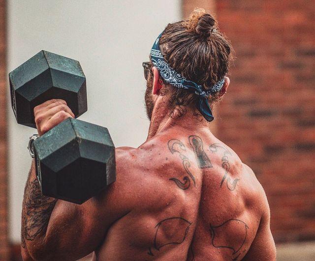 Barechested, Back, Chest, Muscle, Wrist, Trunk, Abdomen, Bodybuilder, Flesh, Stomach,