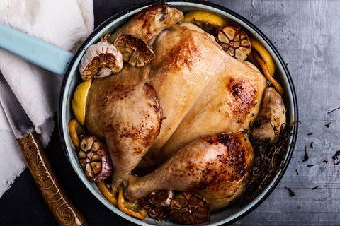 Dish, Food, Cuisine, Hendl, Ingredient, Chicken meat, Roast goose, Drunken chicken, Roasting, Produce,