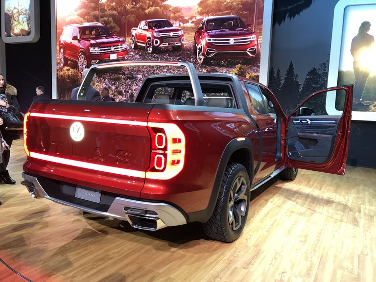 Volkswagen Needs To Make This Concept Midsize Pickup Truck for Real