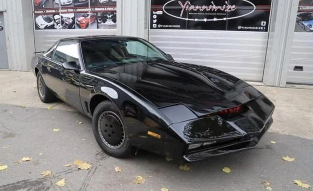 knight rider car being auctioned