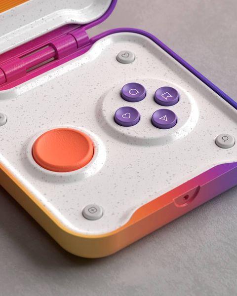 ig推出「90年代掌上遊戲機」?法國設計師復刻ig心心按鍵、爬文搖桿 太療癒啦!