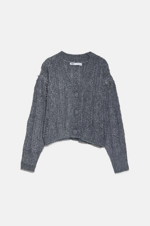 Clothing, Outerwear, Sleeve, Sweater, Wool, Top, Crop top, Woolen, Jersey, Cardigan,