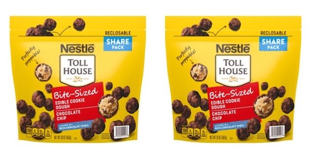 nestle toll house bite sized edible cookie dough