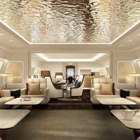 Ceiling, Interior design, Room, Living room, Property, Building, Lighting, Furniture, Wall, Design,
