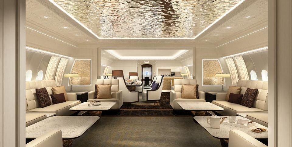Boeing's New Private Jet Is A Mansion In The Sky
