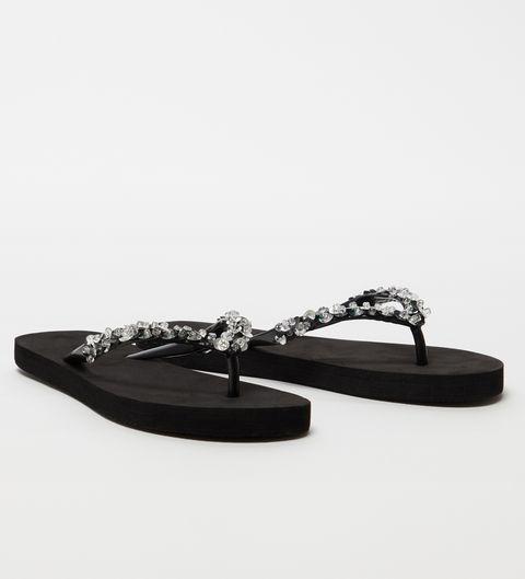 Footwear, Flip-flops, Shoe, Sandal, Slipper, Leather,