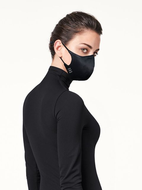 Wolford silk face mask