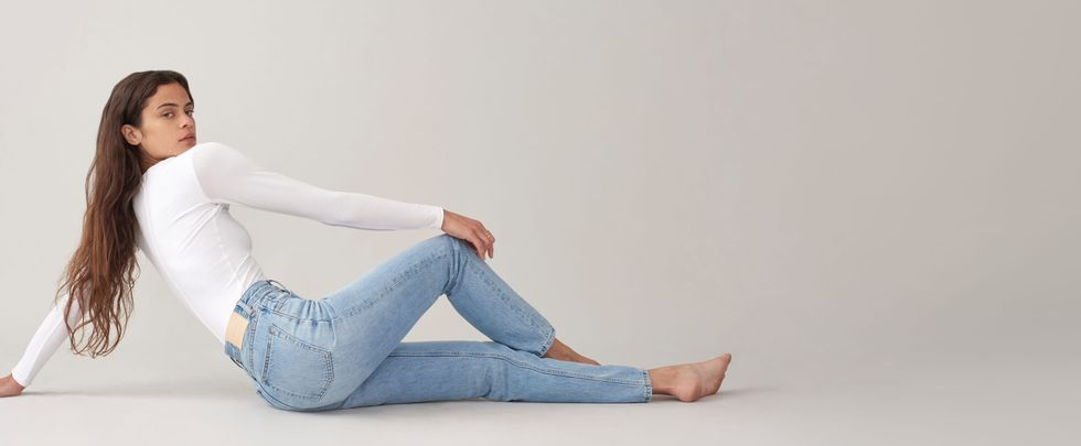 I'll Be Panic-Buying Everlane's $50 Jeans Today