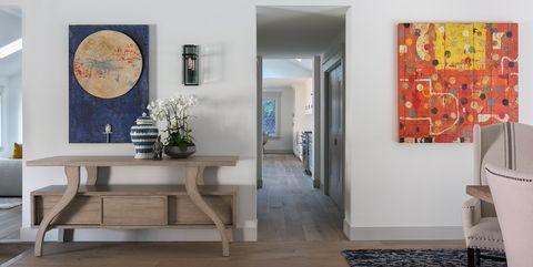 Entryways with Impressive Artwork
