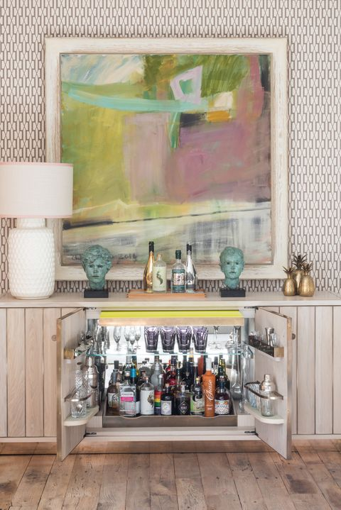 20 Colorful Home Bar Ideas - Fun Designs for Small Home Bars