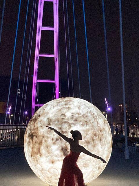 新月橋幸福光雕展