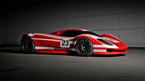 This Spectacular Porsche 917 Concept Pays Homage to a Legendary Race Car