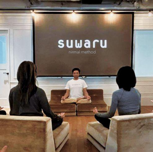 広尾の新スポット、イートプレイワークスで開講中の瞑想ラウンジ、スワル メディテーションのオンラインレッスンを体験
