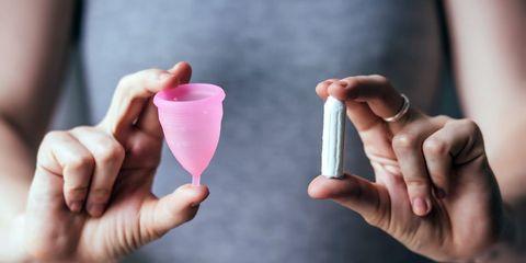 menstrual cup vs tampon