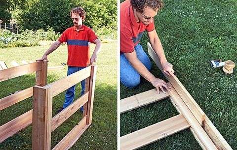 DIY Outdoor Compost Bin - How to Build a Compost Bin for ...