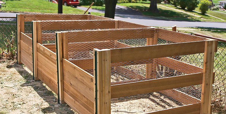 Diy Outdoor Compost Bin How To Build A Compost Bin For