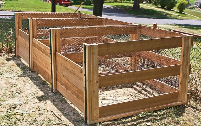 Efficient Wooden Compost Bin | 45 DIY Compost Bins To Make For Your Homestead