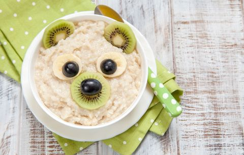 fun bowl of oatmeal