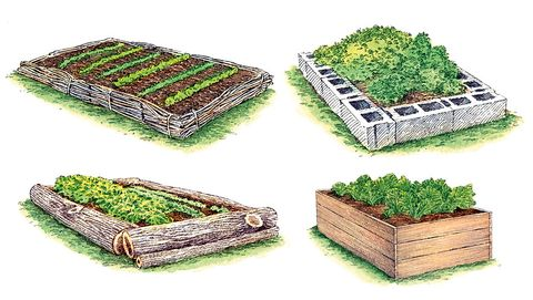 How To Build A Raised Garden Bed Diy Raised Bed Instructions