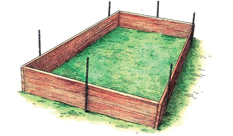 Building A Rebar Raised Bed