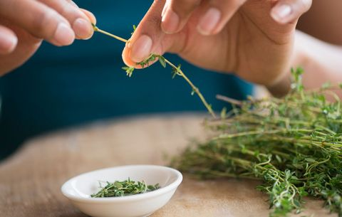 using thyme