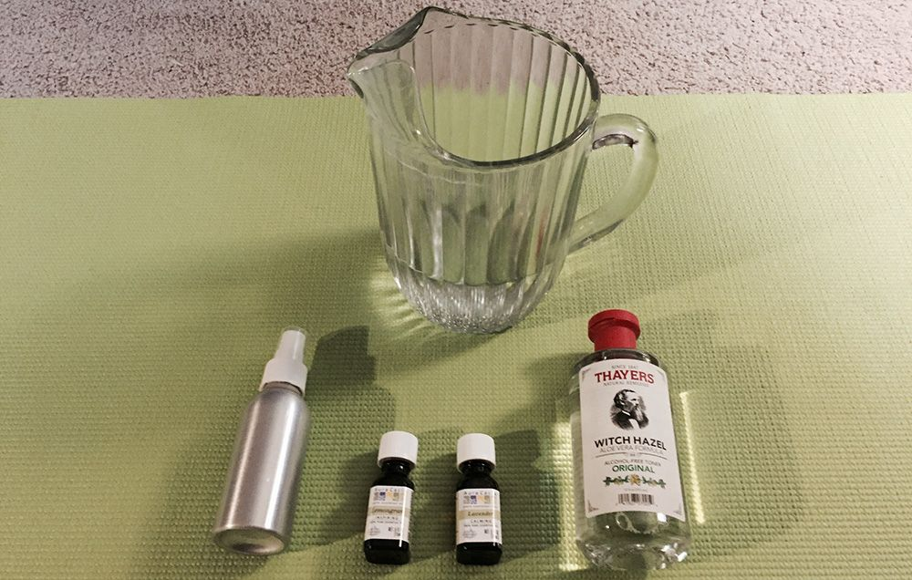 How To Make A Quick And Easy Yoga Mat Cleaning Spray (And Why You