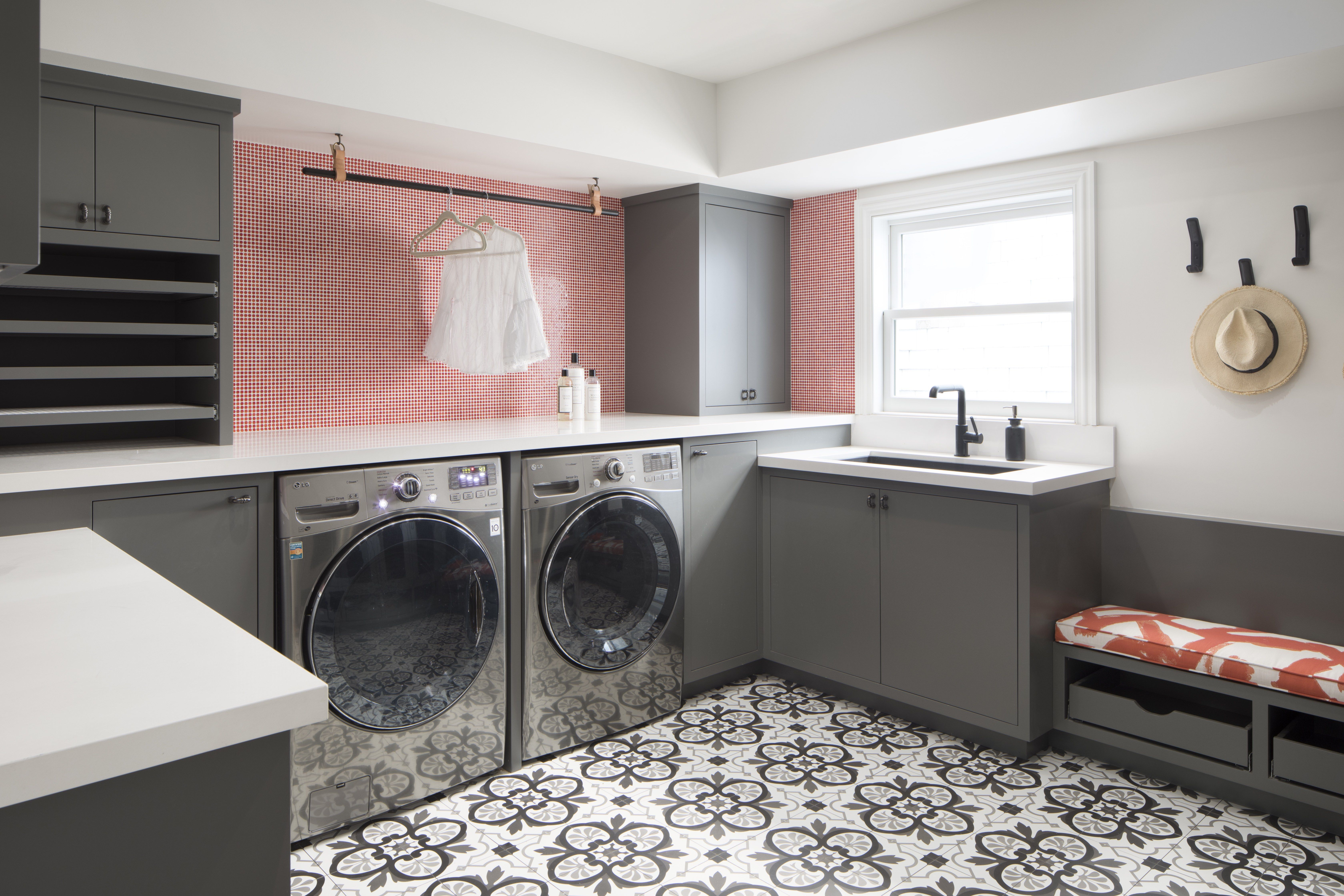 Lovely Functional Laundry Room Ideas
