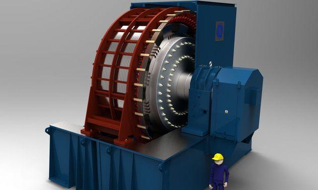 general electric flywheel project
