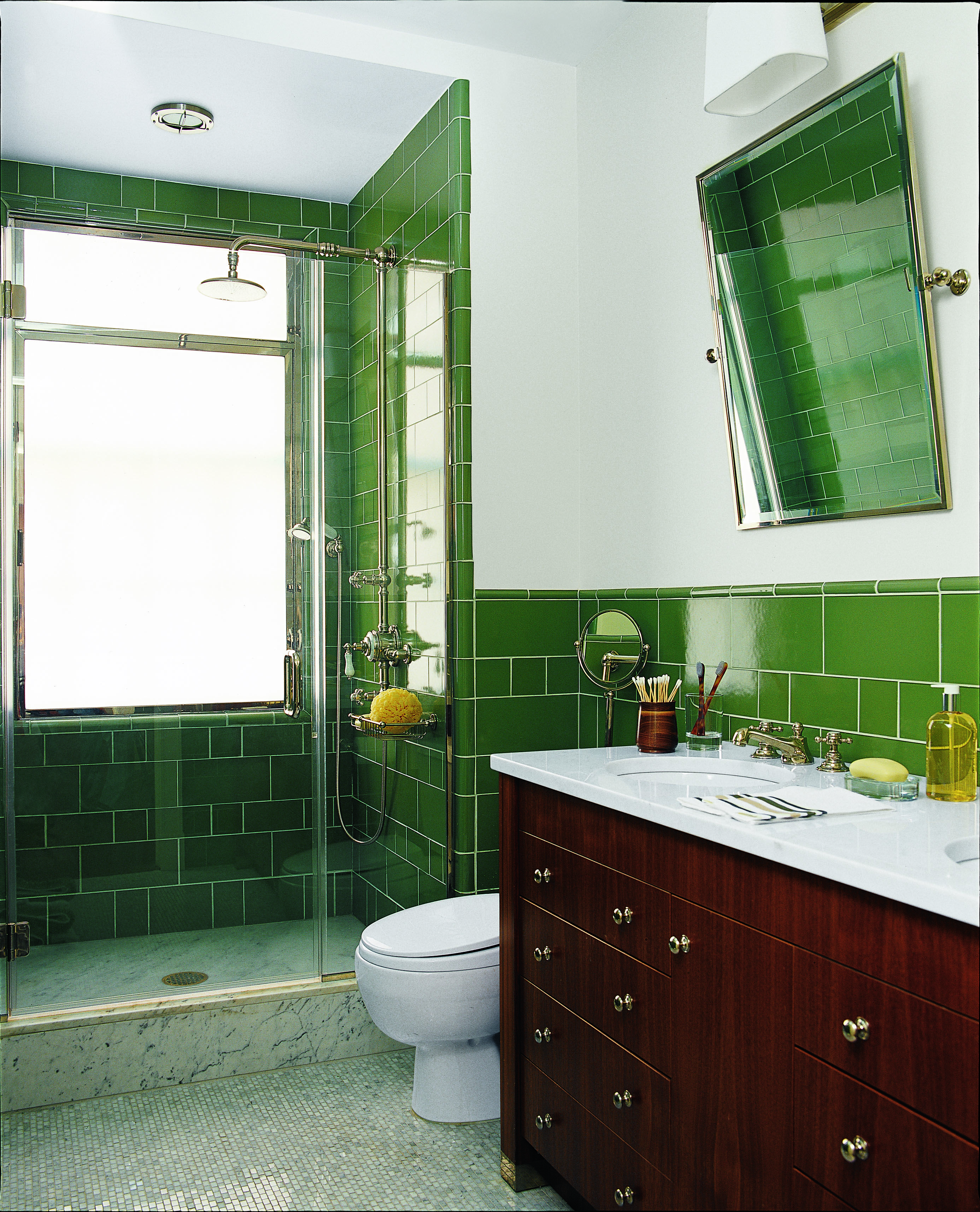 24 Creative Blue And Green Tiled Bathrooms Best Tiled Bathroom Ideas