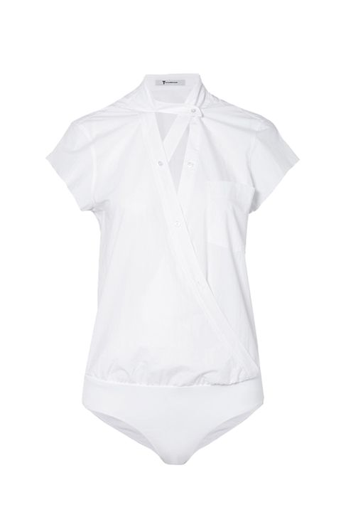 White, Clothing, Sleeve, Product, T-shirt, Blouse, Shirt, Collar, Top, Neck,