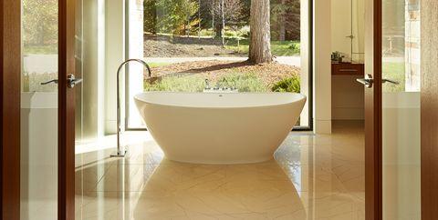 Room, Property, Interior design, Ceiling, Bathroom, Tile, Floor, Building, Architecture, House,