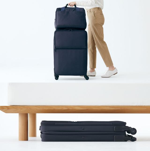 無印良品可折疊行李箱