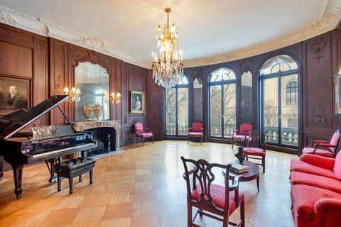 gilded mansion manhattan home listing