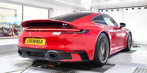 Litchfield Saca 580 Cv Del Nuevo Porsche 911 Carrera S