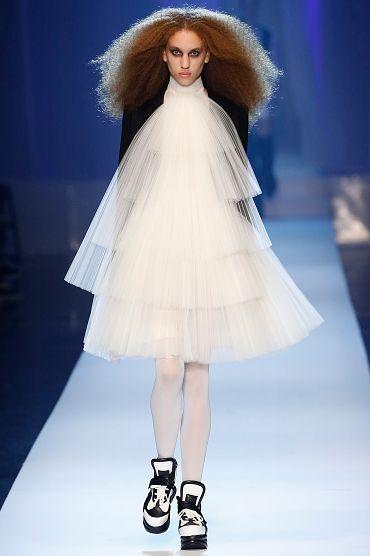 婚紗,禮服,蛋糕裙,白紗,2018,高訂秀,Jean-Paul Gaultier
