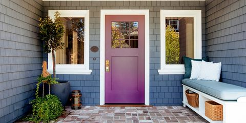 20 Unexpected Front Door Colors To Enliven Your Entryway