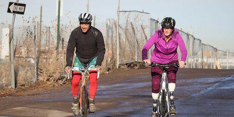adaptive cyclocross race
