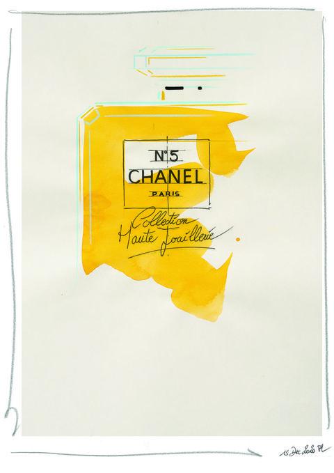 黃色的香水