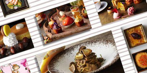 ラグジュアリーホテルの秋のアフタヌーンティープランや食事プラン