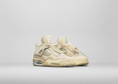 off white x air jordan 4聯名鞋款帥炸!限量聯名款開賣時間地點一次公開