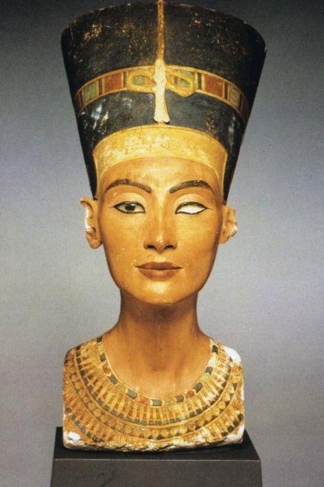 queen nefertiti, thutmose bust