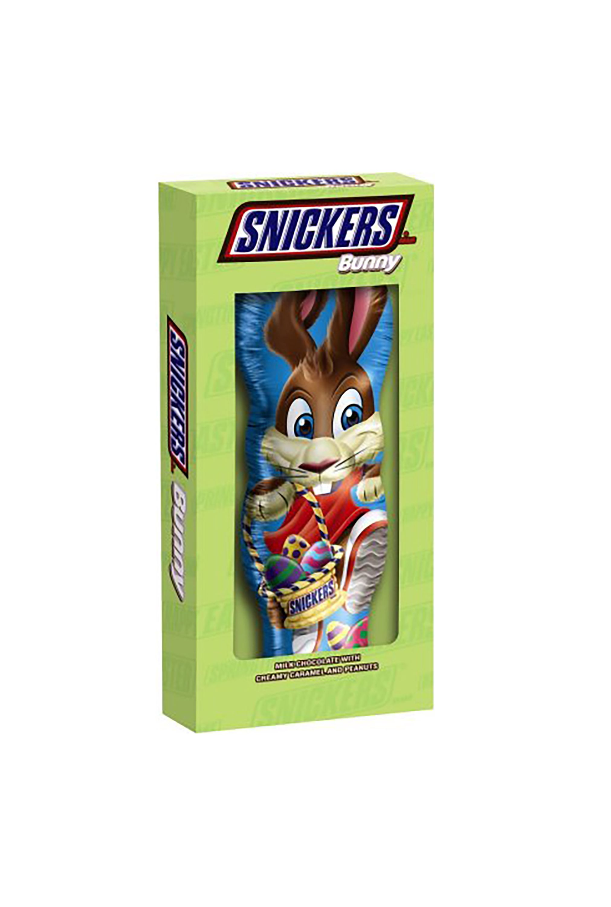 snickers chocolate bunny