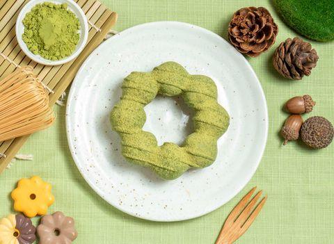 mister donut x 辻利茶舗 抹茶季限定甜甜圈