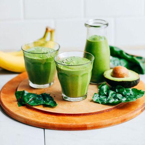 minimalist baker creamy avocado banana green smoothie